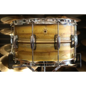Ludwig 8x14 Raw Brass Phonic Snare Drum w/ Imperial Lugs