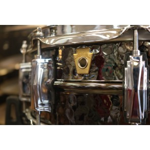 Ludwig 5x14 Hammered Black Beauty w/ Imperial Lugs
