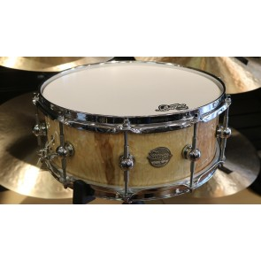 "Doc Sweeney ""Waterfall"" 5.5x14 Quilted Stave Ash Snare Drum"