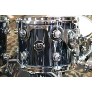 DW Drum Workshop Performance Series Shell Pack, Chrome Shadow Finish 18x22, 8x10, 9x12, 14x16, 6.5X14