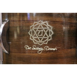 "Doc Sweeney ""Anahata"" 6.5x14 Steam Bent East Indian Rosewood Snare Drum"