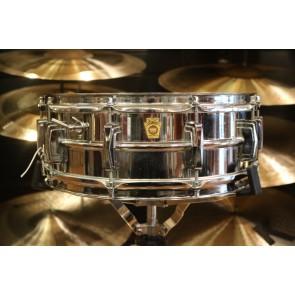 Used 14x5 Vintage Ludwig Supraphonic Snare Drum w/Original Case