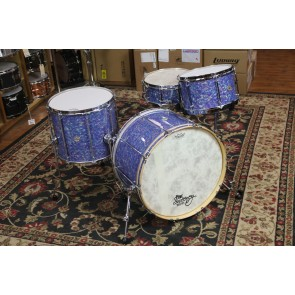 Doc Sweeney Classic Collection Steam Bent Maple Shell pack in Pacific Pearl. 8x13, 14x16, 14x22, 5.5x14