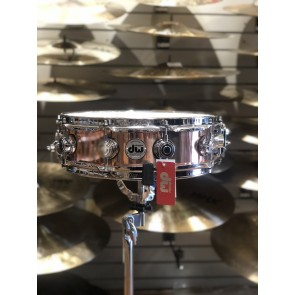 DW *Factory B-Stock* Collector's Series 4x14 Polished Copper Snare Drum