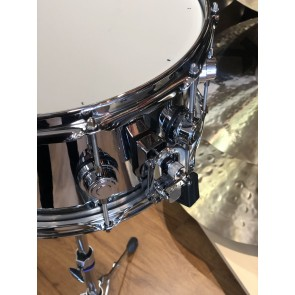 DW *Factory B-Stock* Collector's Series 6.5x14 Steel Chrome Polished Snare Drum