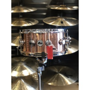 DW *Factory B-Stock* Collector's Series 6.5x14 Polished Copper Snare Drum