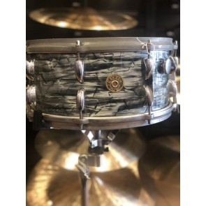 Vintage 50's Era Gretsch 3 ply 6X14 Vintage Snare in Blue Oyster