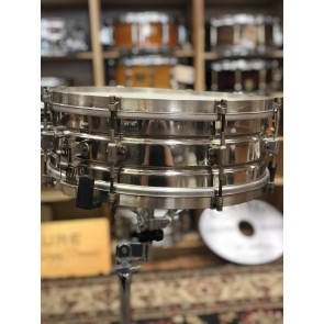 Vintage Leedy 5x14 Nickle over Brass Snare Drum