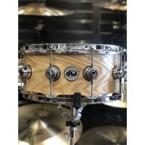 DW Collectors Series 6x14 Pure Oak Snare Drum in Satin Oil