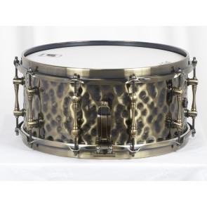 Mapex Sledgehammer Black Panther Hammered Brass 6.5x14 Snare Drum