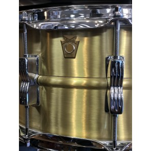 Ludwig 6.5x14 Acro Brass Snare Drum