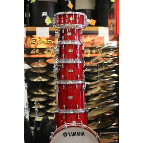 Yamaha Absolute Hybrid Red Autumn Drum Set