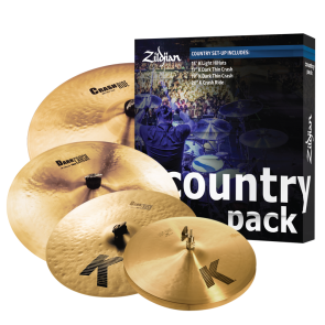 Zildjian Country K Pack Cymbal