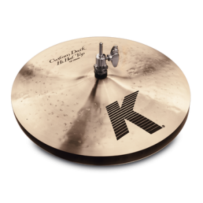 "Zildjian 14"" K Custom Dark Hi Hat Pair, Floor Model."
