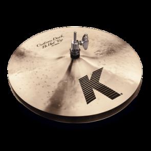 "Zildjian 14"" K Custom Dark Hi Hat Pair, Floor Model."