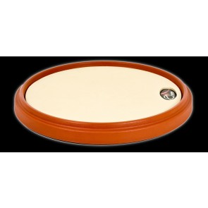 Offworld Percussion V3 Natural Gum Rubber Practice Pad with Red Rim