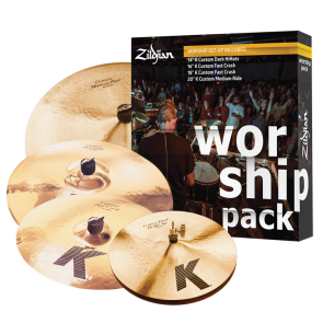Zildjian Worship K Custom Pack Cymbal