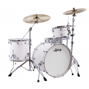 Ludwig NeuSonic 7x10 Tom- Aspen White