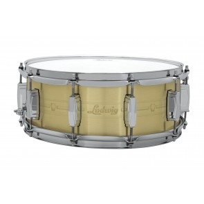 Ludwig 5.5x14 Heirloom Brass Snare Drum