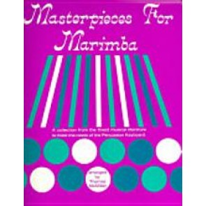 Masterpieces for Marimba [Book] by Thomas McMillan