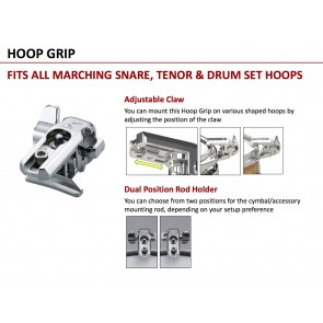Tama MC8 Hoop Grip