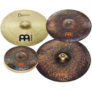 """Meinl Byzance Mike Johnston Cymbal Pack / Box Set - 14"""", 20"""", 21"""" and Free 18"""" Byzance Extra Dry Thin Crash"""
