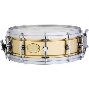 """MAJESTIC 14"""" X 5"""" BRASS PROPHONIC SNARE DRUM"""