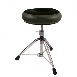 Roc N Soc Manual Spindle Throne - Round - Black