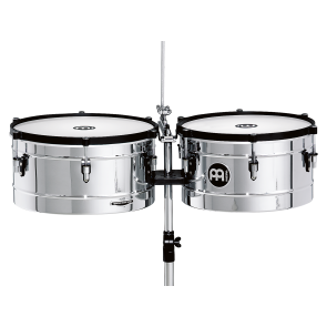 "Meinl Marathon Timbales 14"" & 15"" Chrome Finish"