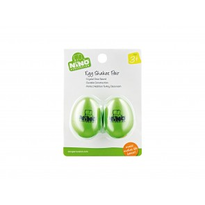 Nino Pair of Egg Shakers - Grass-Green