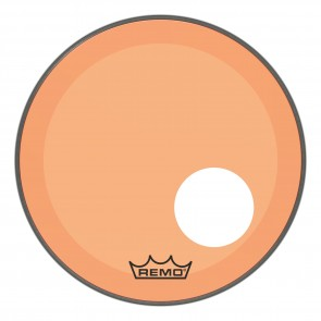 "Remo 18"" Powerstroke P3 Colortone Orange Bass Drumhead"