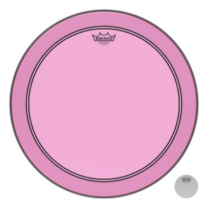 "Remo 22"" Powerstroke P3 Colortone Pink Bass Drumhead"