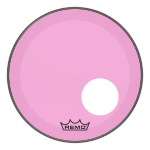 """Remo 22"""" Powerstroke P3 Colortone Pink Bass Drumhead"""
