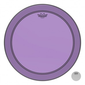"Remo 18"" Powerstroke P3 Colortone Purple Bass Drumhead"