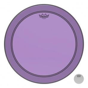 "Remo 26"" Powerstroke P3 Colortone Purple Bass Drumhead"