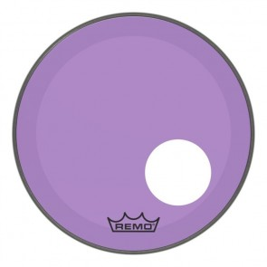 "Remo 22"" Powerstroke P3 Colortone Purple Bass Drumhead"