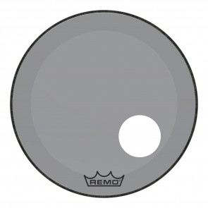 "Remo 22"" Powerstroke P3 Colortone Smoke Bass Drumhead"