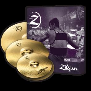 """Zildjian Planet Z 4 Pack (14"""" Pr, 16"""", 20"""") Cymbal"""