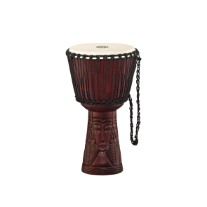 """Meinl Professional African Style Djembe 12"""" Large African Queen Carving"""