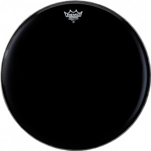 """Remo 22"""" Ebony PowerMax Bass Drumhead"""