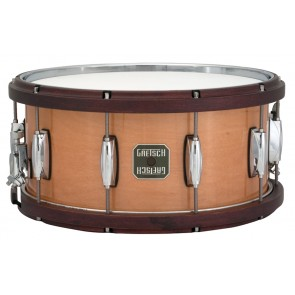 Gretsch 6.5X14 Maple Snare Drum With Satin Walnut Hoops