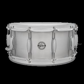 "Gretsch ""Full Range"" Grand Prix Aluminum Snare Drum 6.5x14 with 302 Hoops"