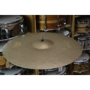 Meinl Byzance Vintage 18' Sand Thin Crash Cymbal-Demo of Exact Cymbal-1246 grams-Used w/ Full Warranty!