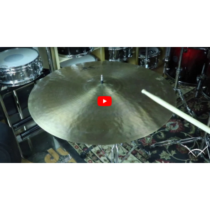 "Zildjian 22"" Kerope Ride-Demo of Exact Cymbal-2366g"