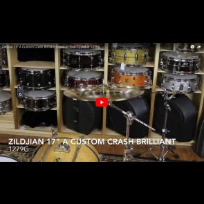 "Zildjian 17"" A Custom Crash Brilliant-Demo of Exact Cymbal-1279g A20515"