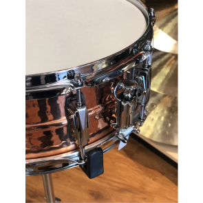 Ludwig 5x14 Hammered Copper Phonic Snare Drum