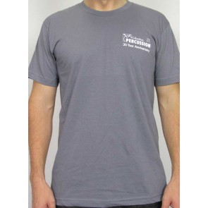 Columbus Percussion 30th Anniversary Shirt - Slate Gray
