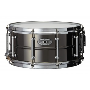 "Pearl Pearl 14""x6.5"" SensiTone Black Nickel-over-Brass Snare Drum"
