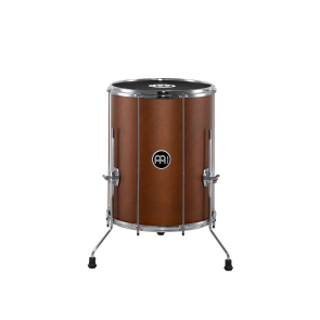 """Meinl Stand Alone Wood Surdo 16"""" x 20"""" with legs African Brown"""