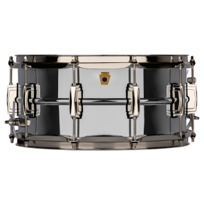 Ludwig 6.5 x 14 Super Series Chrome over Brass Snare Drum